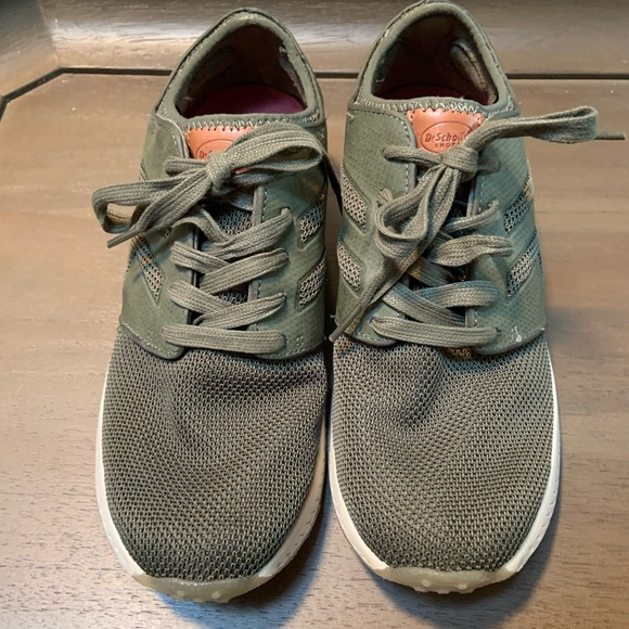 Dr. Scholl's Shoes - Dr. Scholl's Olive Green Orthopedic Sneakers